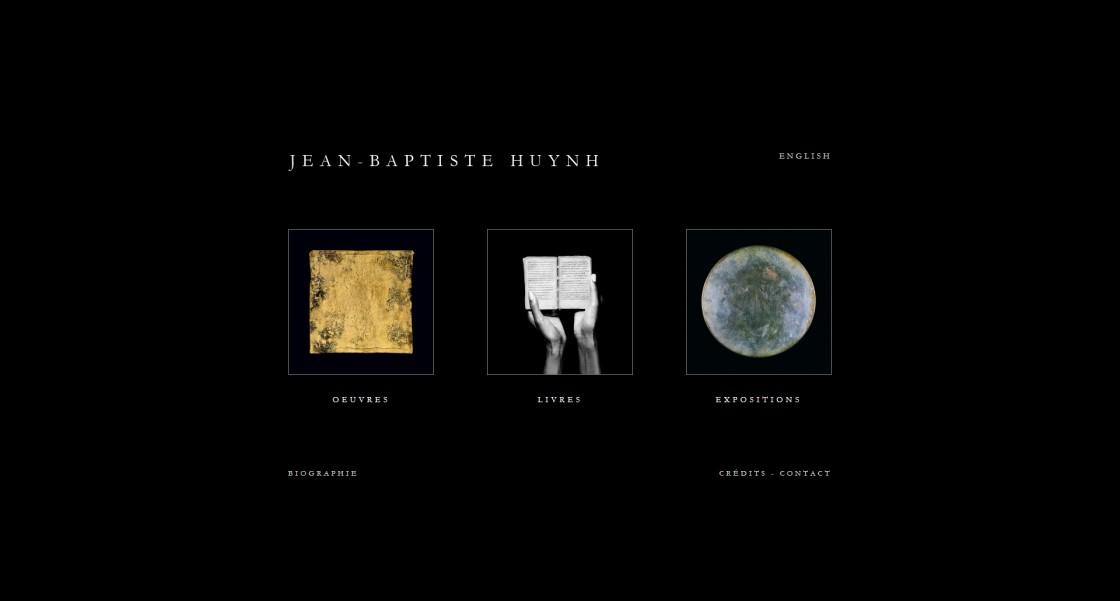 Jean Baptiste Huynh - Page d'accueil du site