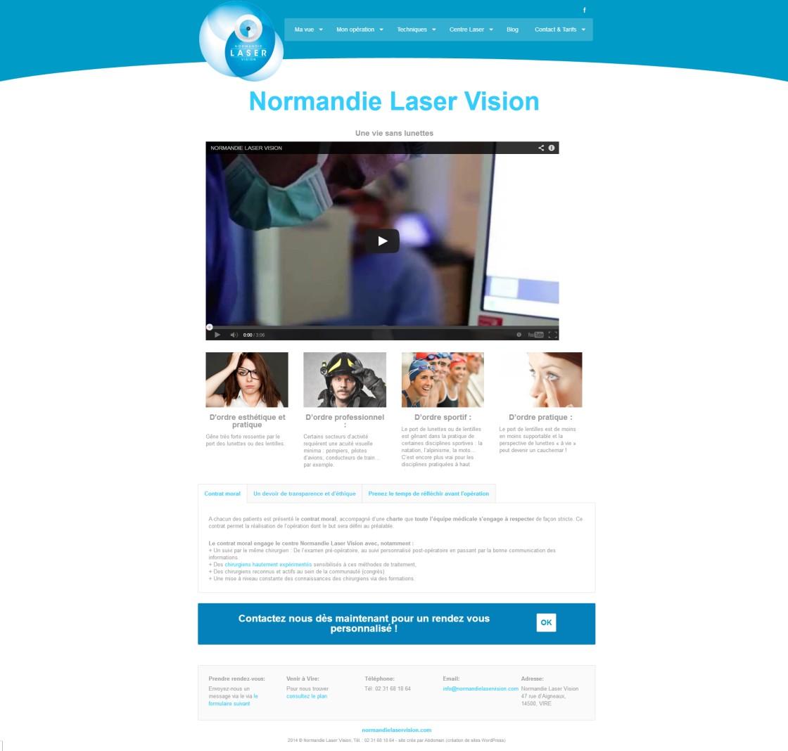 Normandie Laser Vision - Page d'accueil
