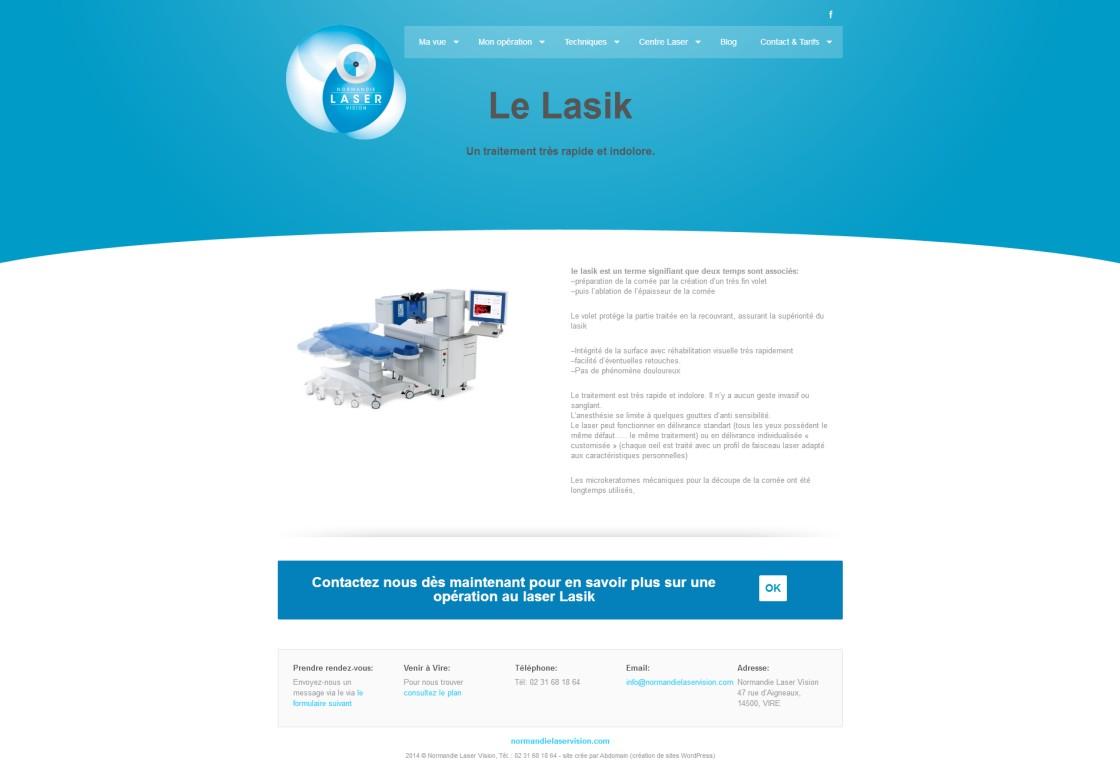 Normandie Laser Vision - Lasik page