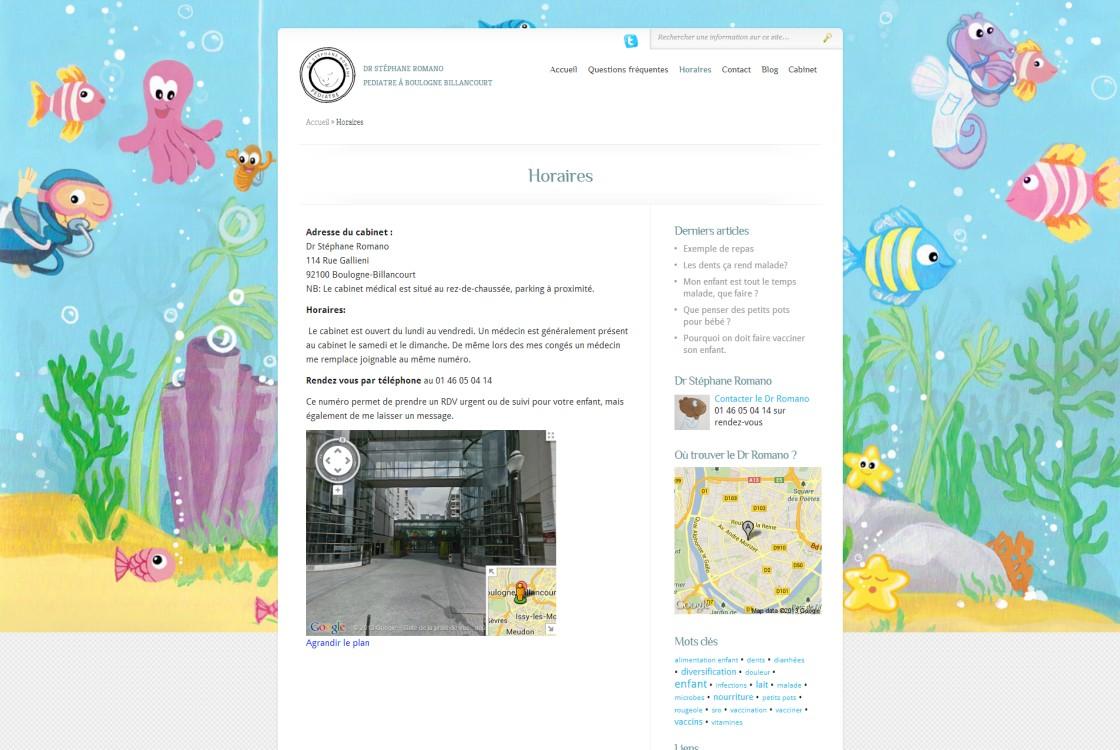 Romano - intégration Google Street View pour le plan