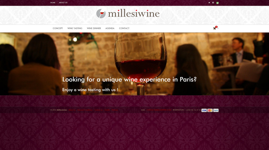 Millesiwine - Page d'accueil