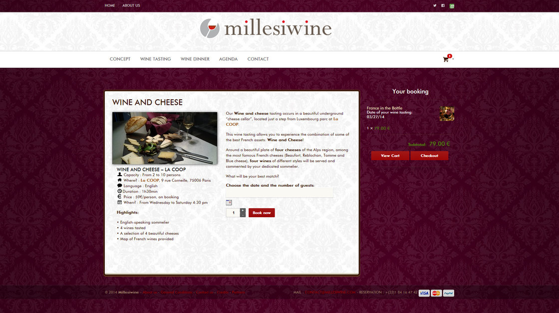 Millesiwine - Page Wine and Cheese